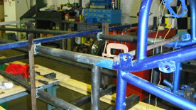 Fabrication raicing chassis Cleveland